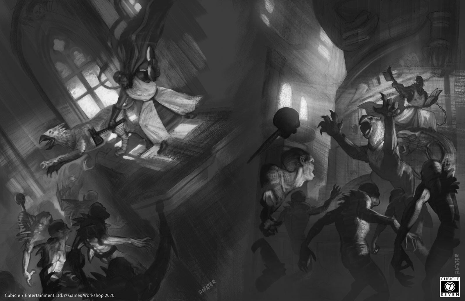 Warhammer age of sigmar : sketches