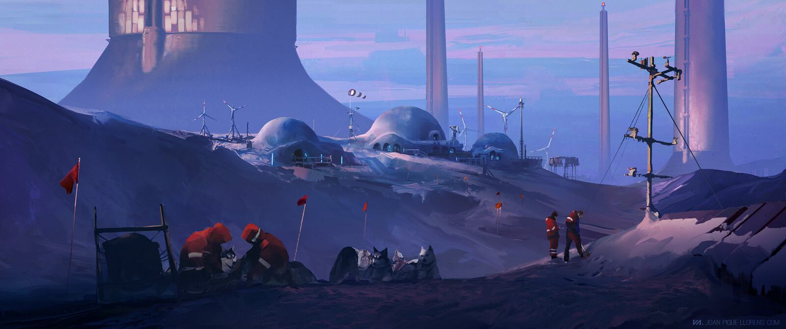Antartic outpost