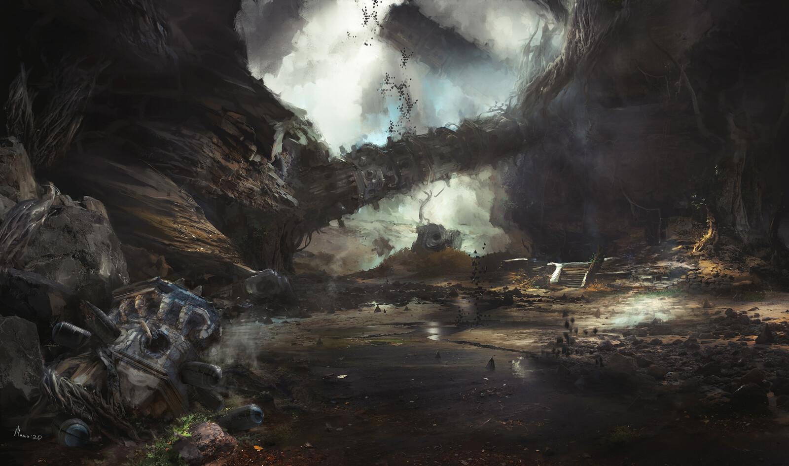 Underground Concept design