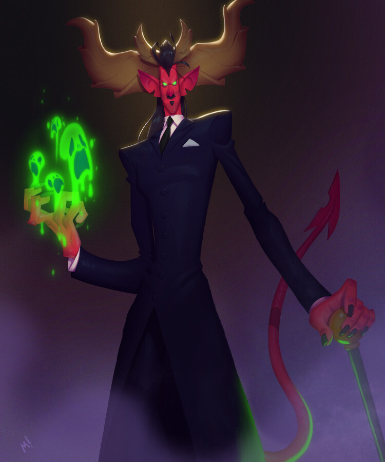 """""""Vxxllyr's not a demon. He's just a faun trickster perpetuating religious mythology. He's dangerous, but not as dangerous as he wants you to think he is."""" - Ansel, undermining Vxxllyr's attempt to intimidate."""