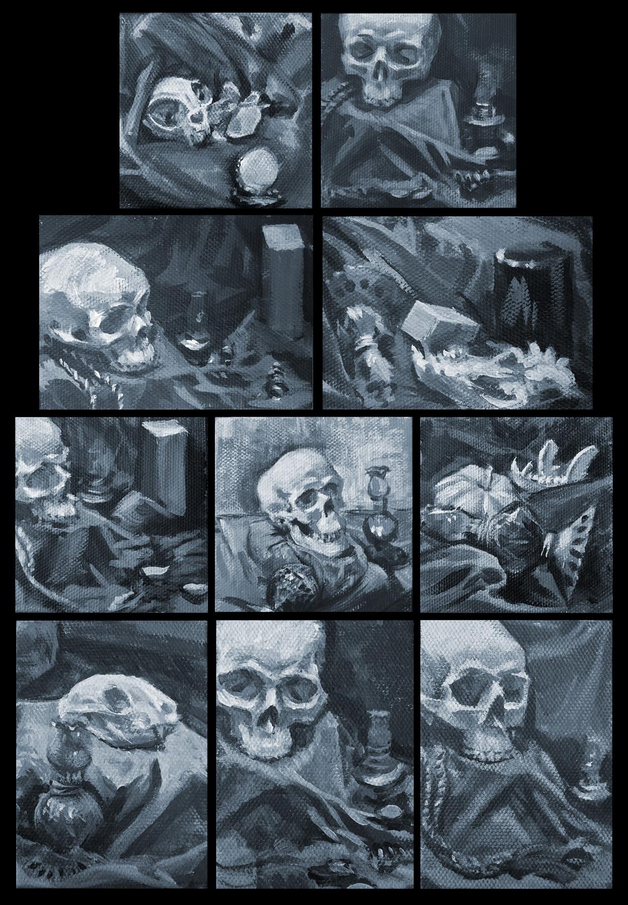 Studies of light and bone