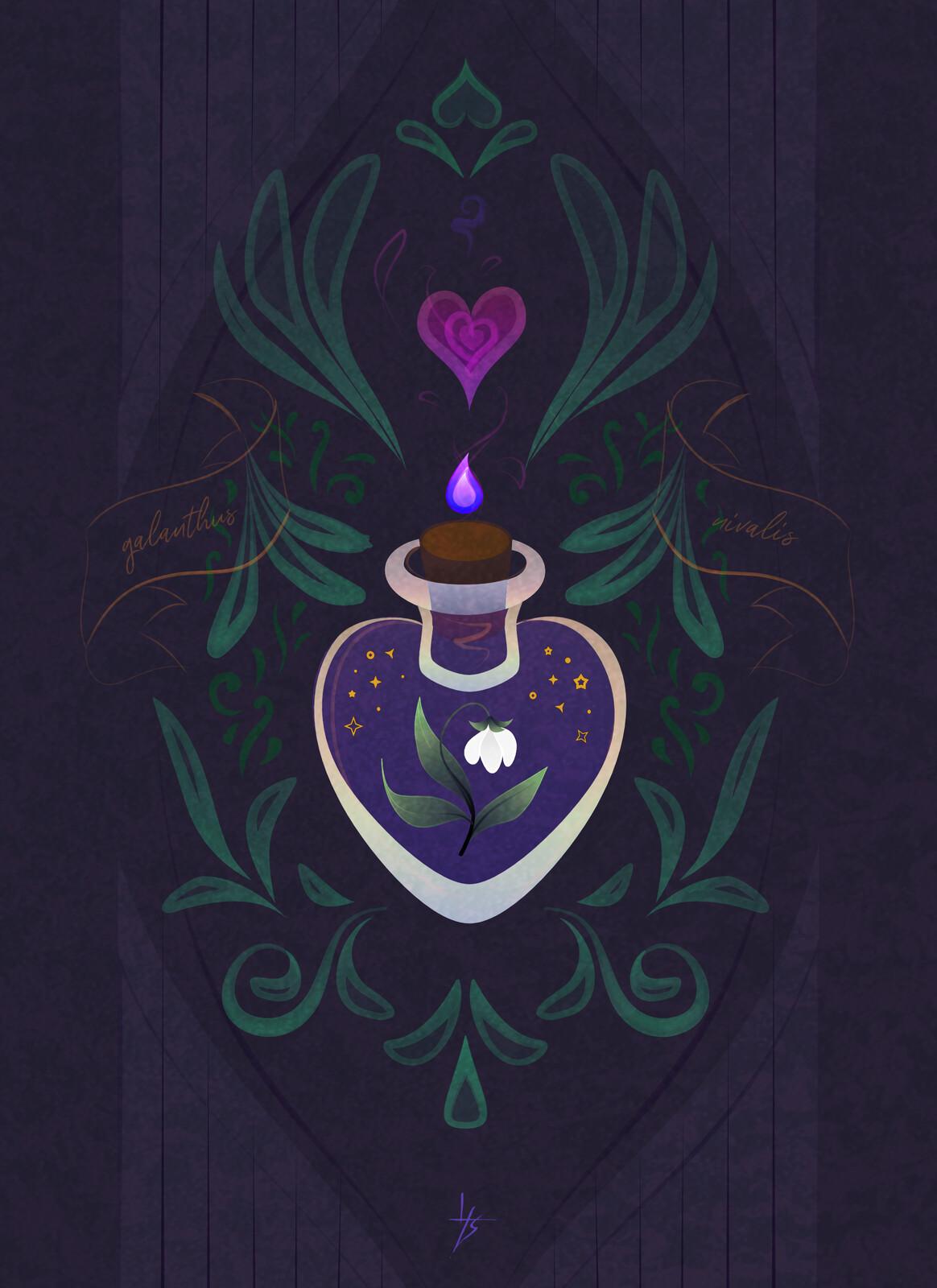 Galanthus Heart