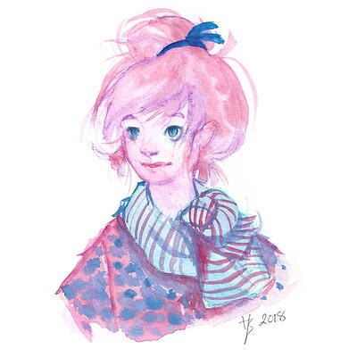 Hannah sayre pinkgirl