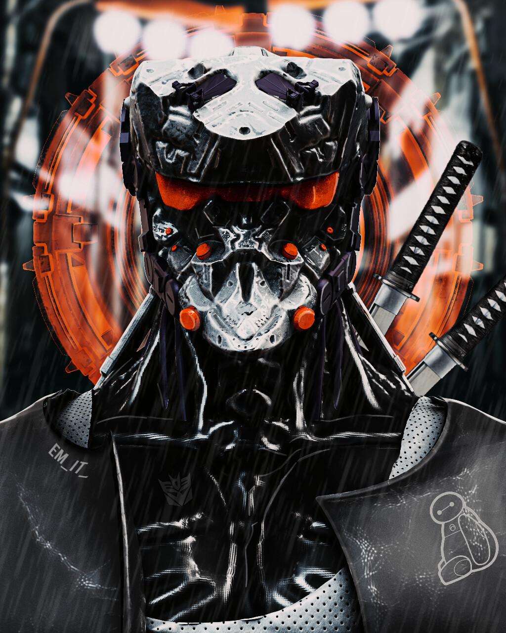 Artstation Mech Samurai Yasuke Amit Choudhary Nobunaga awarded yasuke, a valiant and mighty fighter, the prestigious status of samurai. artstation mech samurai yasuke