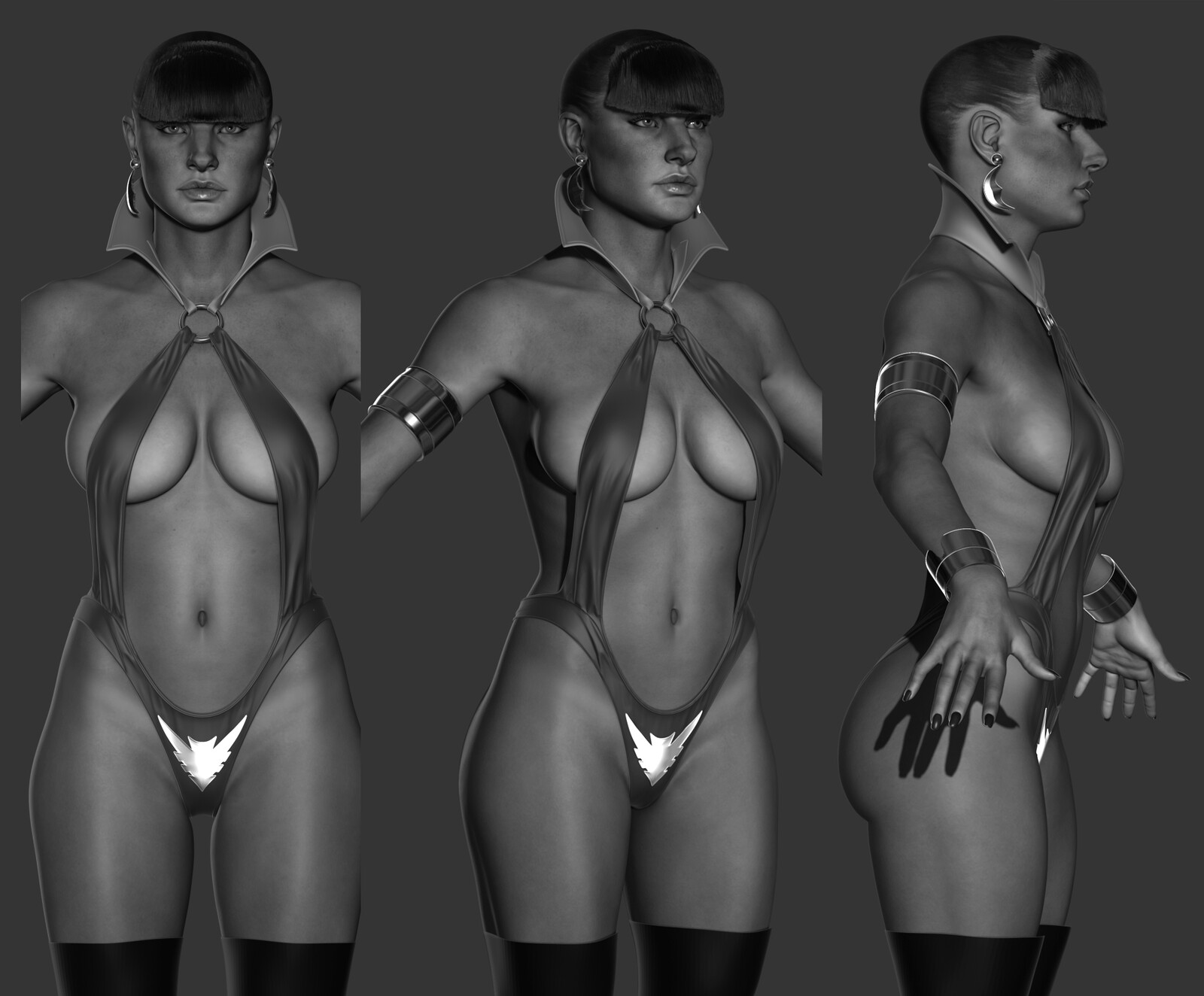 updated physique and face, will re-pose body differently so stay tuned.
