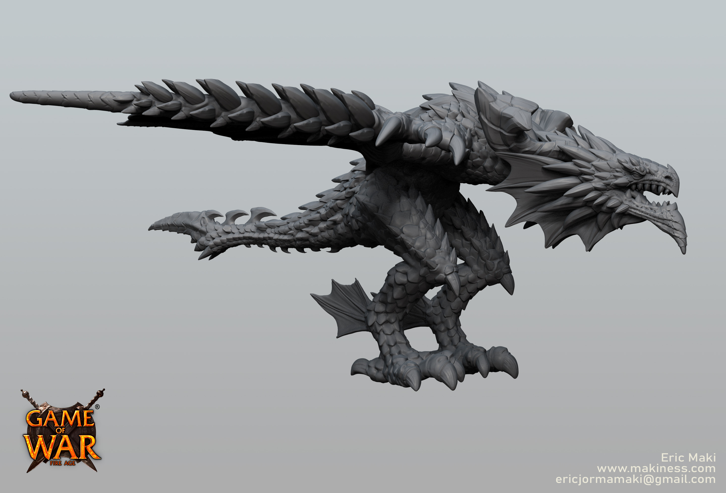 Wind Dragon Sculpt