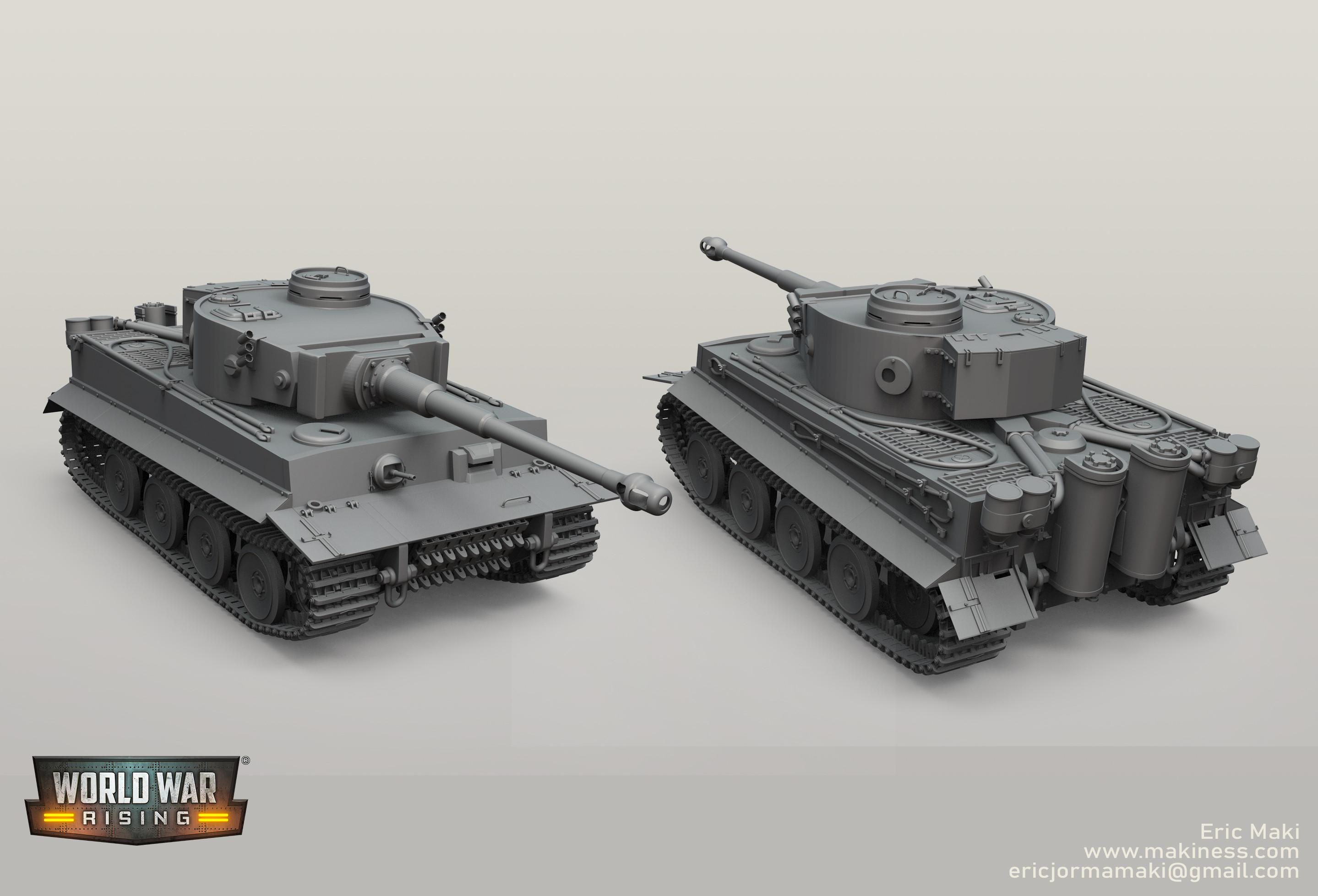 Tiger Tank Sculpt