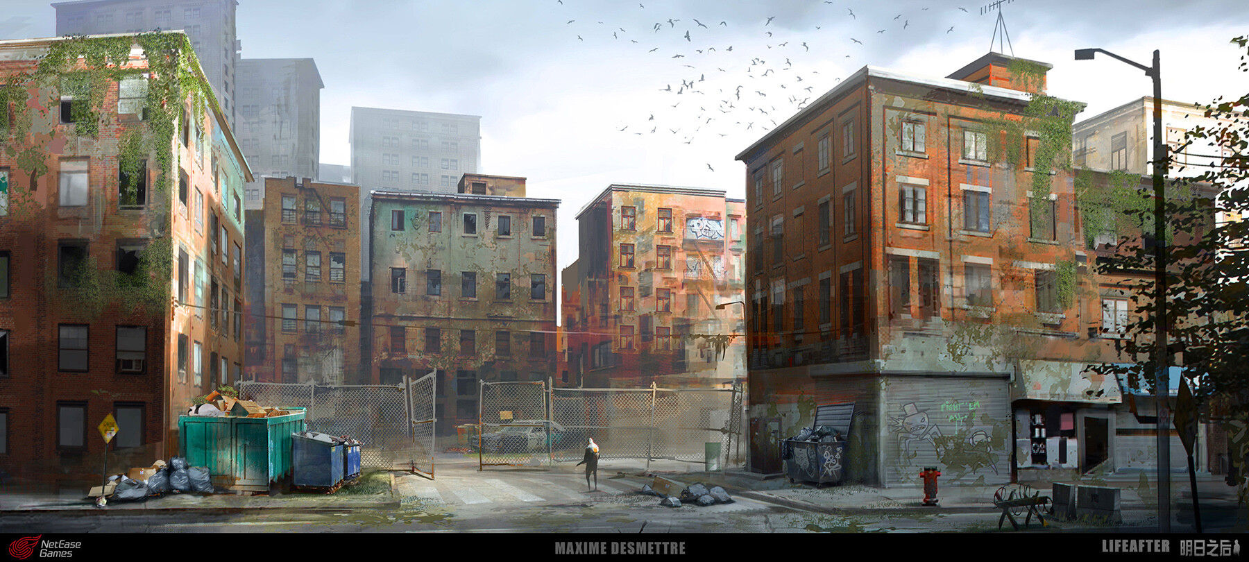 Life After - Residential Area Concept Art (2019)
