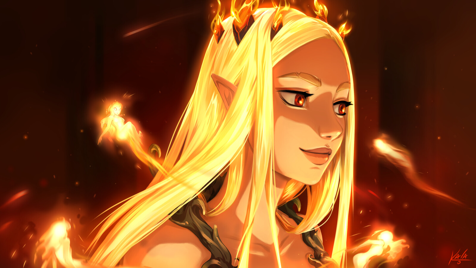A Crown of Fire