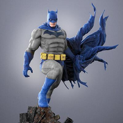 Alterton bizarre batman 702 painted2