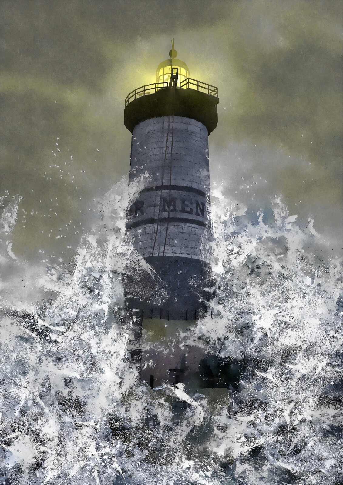 When two lighthouses guardians are trapped in a furious tempest.