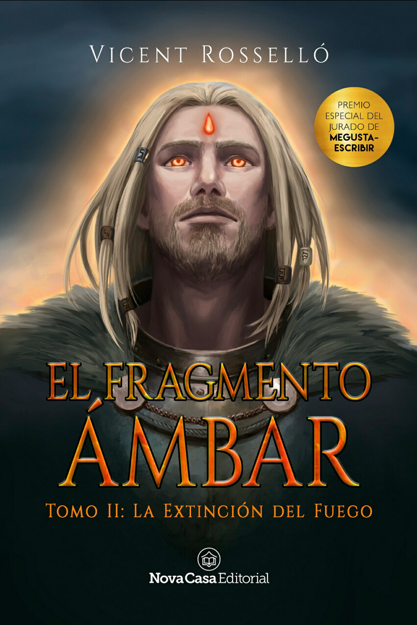 Book Cover Illustration - El Fragmento Ámbar II