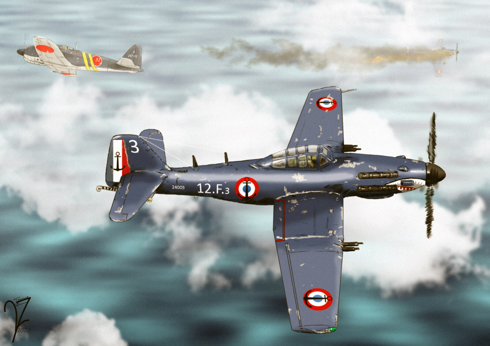 Arsenal VB.31 Requin Fighter Aircraft