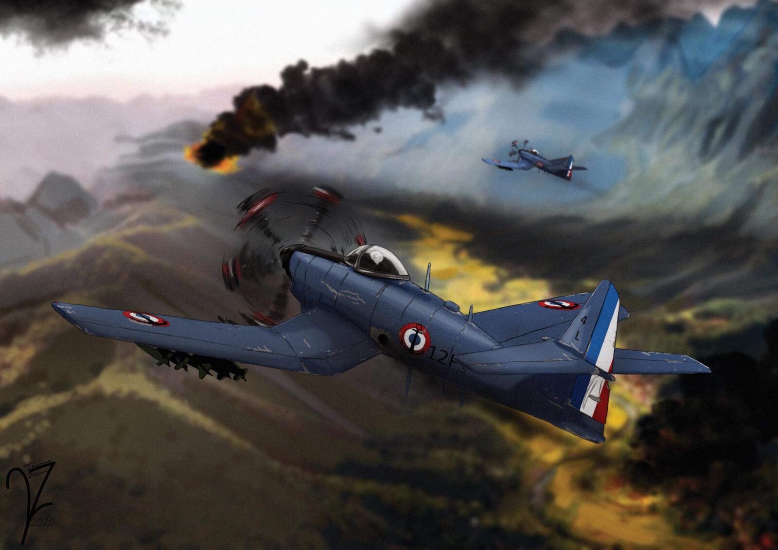 Arsenal VB.33 Epaulard Dive Bomber