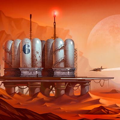 Natalya zakharova 5 sci fi concept
