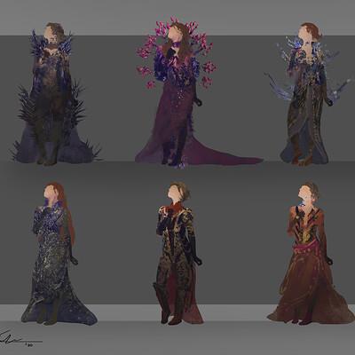 Josh durham character designs sketches