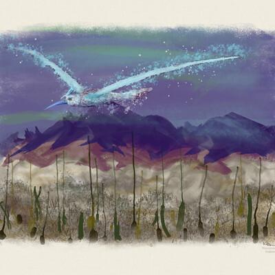 Mecchaapa Bird - Channeled Art by Manoamao Tribe, Andromeda
