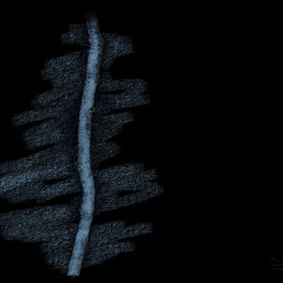 Twig In Plain Sight - Channeled Art - Pleiadian