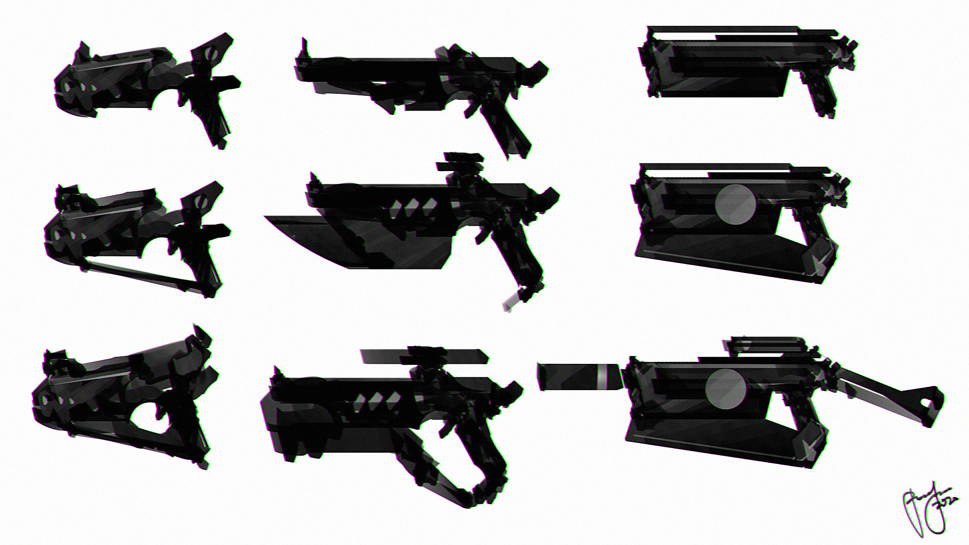 weapon designs -guns