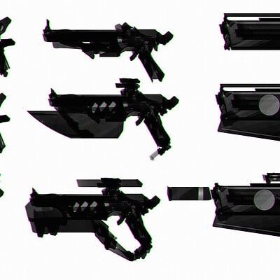 Benedick bana scifi design guns final