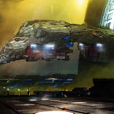 Pradal aurele arrival of transport 1