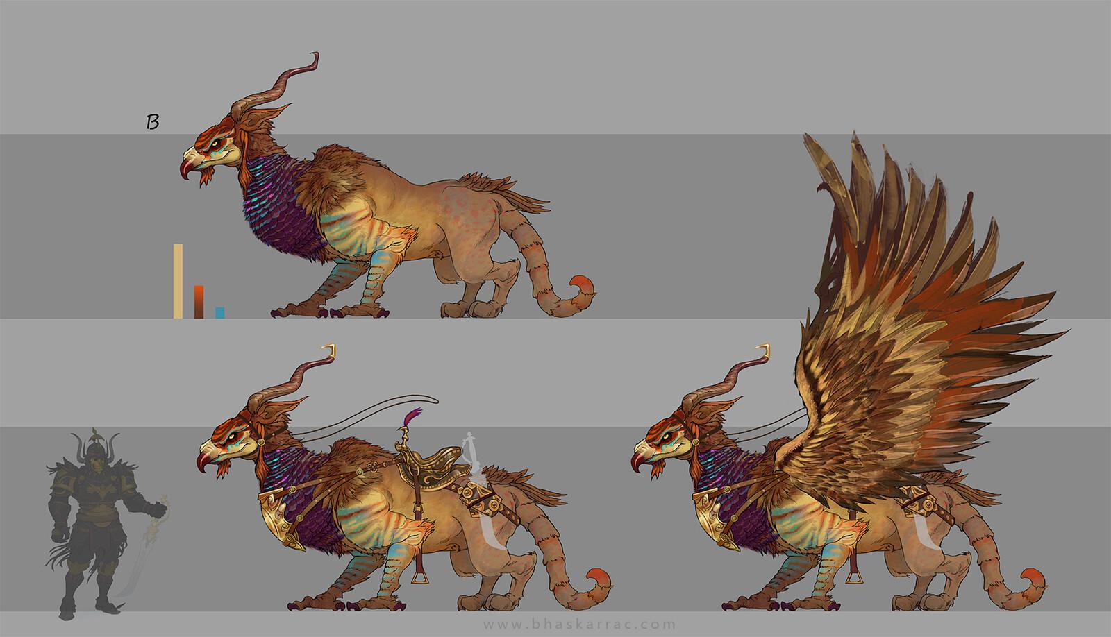 Creature Colour pass 02