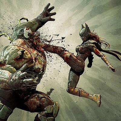 Bjorn barends batwoman vs bane 1