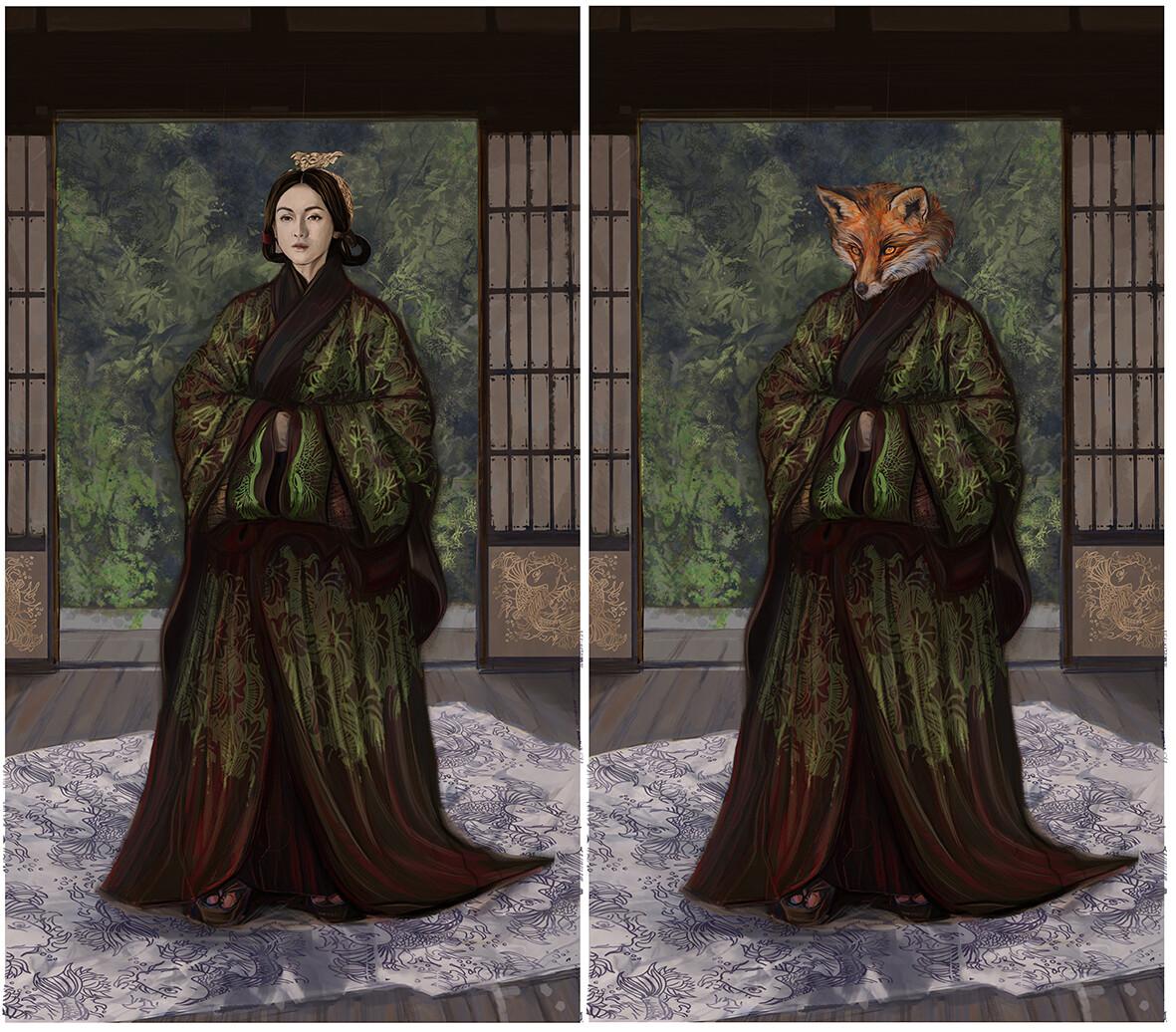 Kitsune / Huli jing