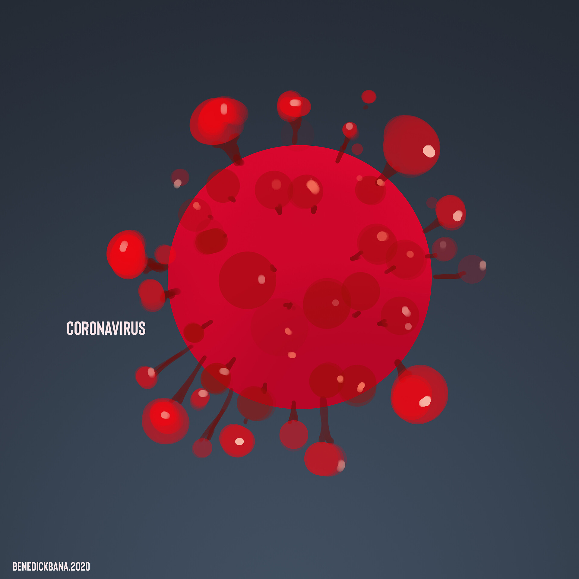 Speedpaint Corona Virus