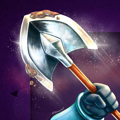 Felipe blanco shovel blade 4