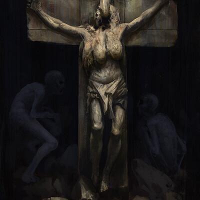 Camille alquier crucifix 2