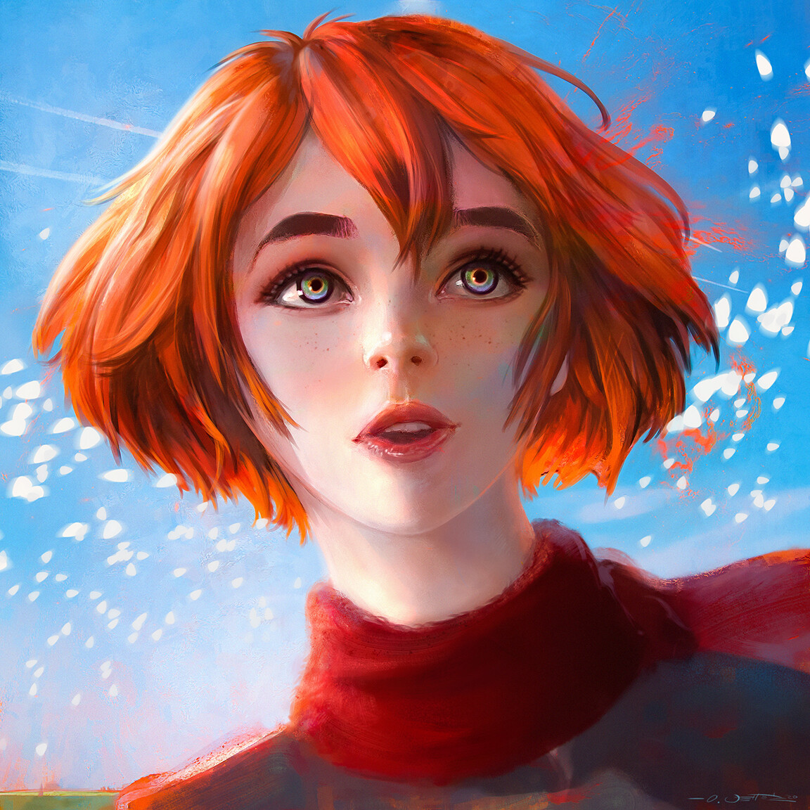 Corie Lynn - Character Portrait Painting