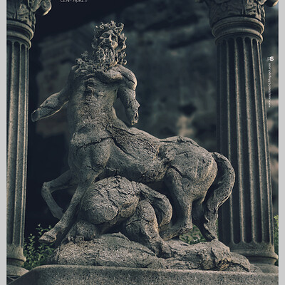 Surajit sen centaur2 0 digital sculpture surajitsen may2020a