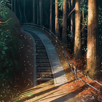 Pathway to Snow Monkey (34/365)