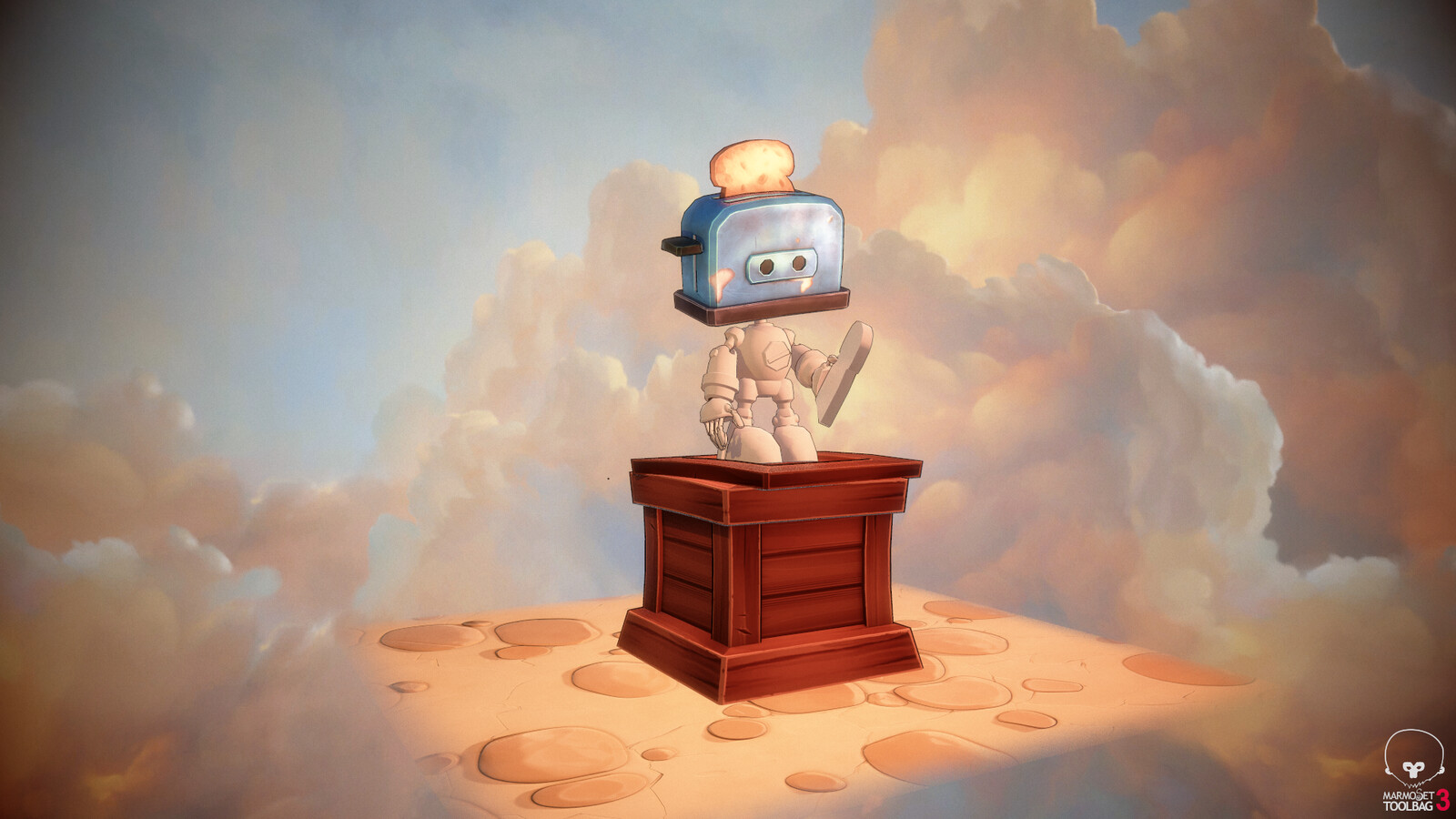 Toaster Robot // work in progress