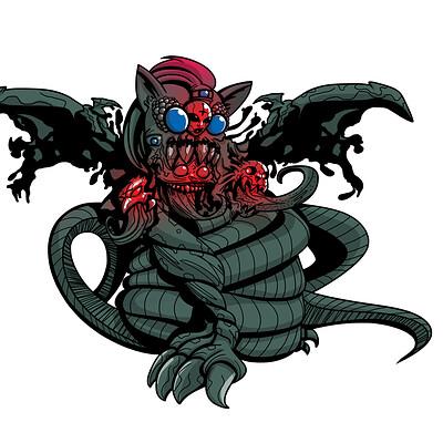 Gustavo lucero monstruo color version 2 m
