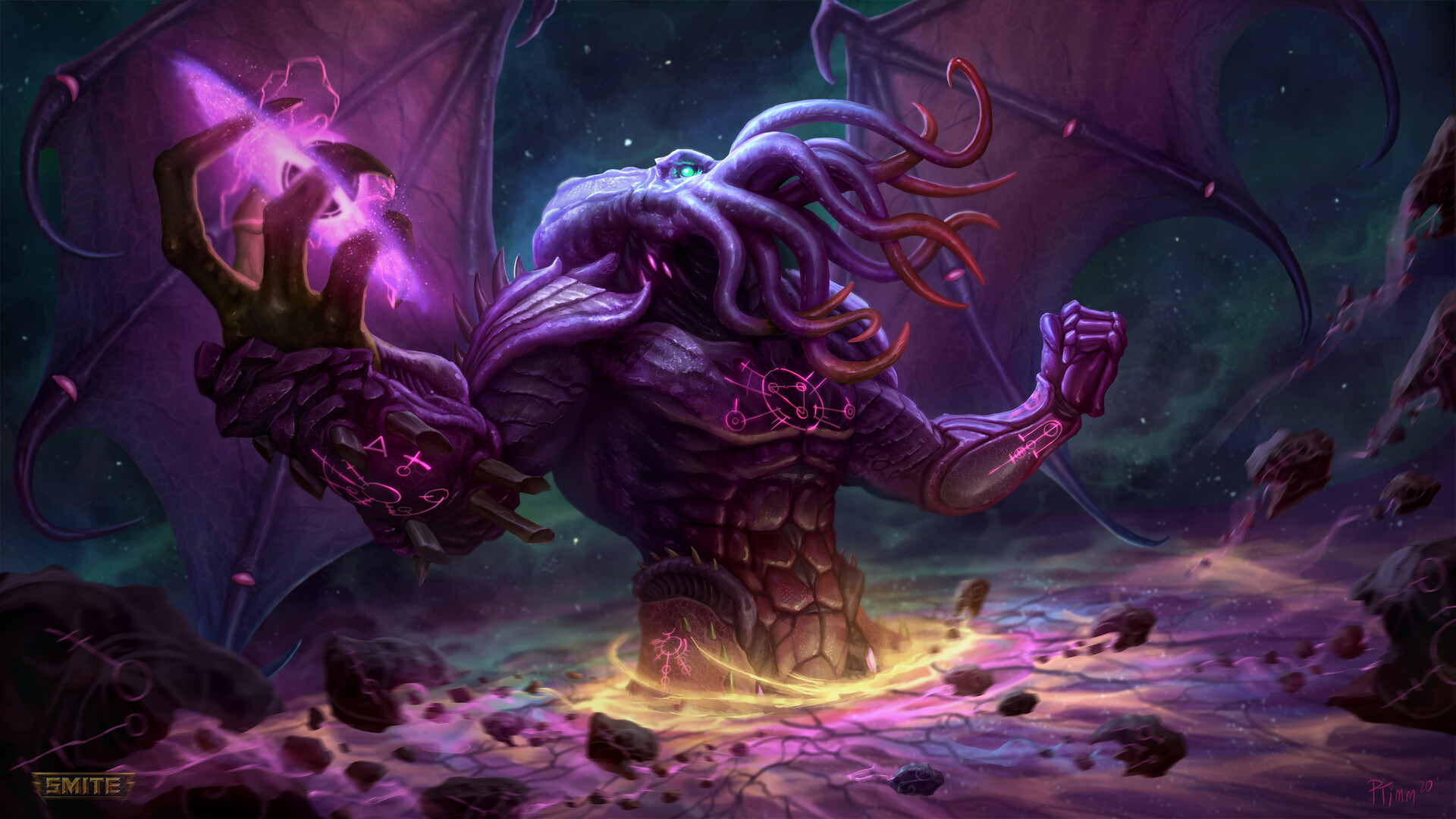 Andy Timm Cosmic Horror Cthulhu Smite