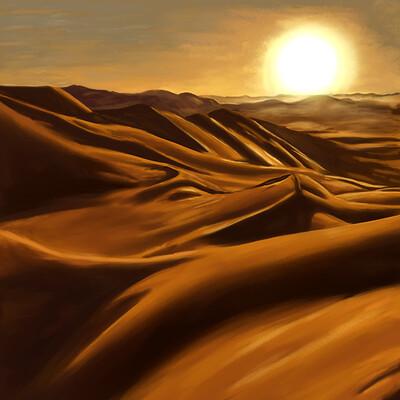 David okon sahara desert