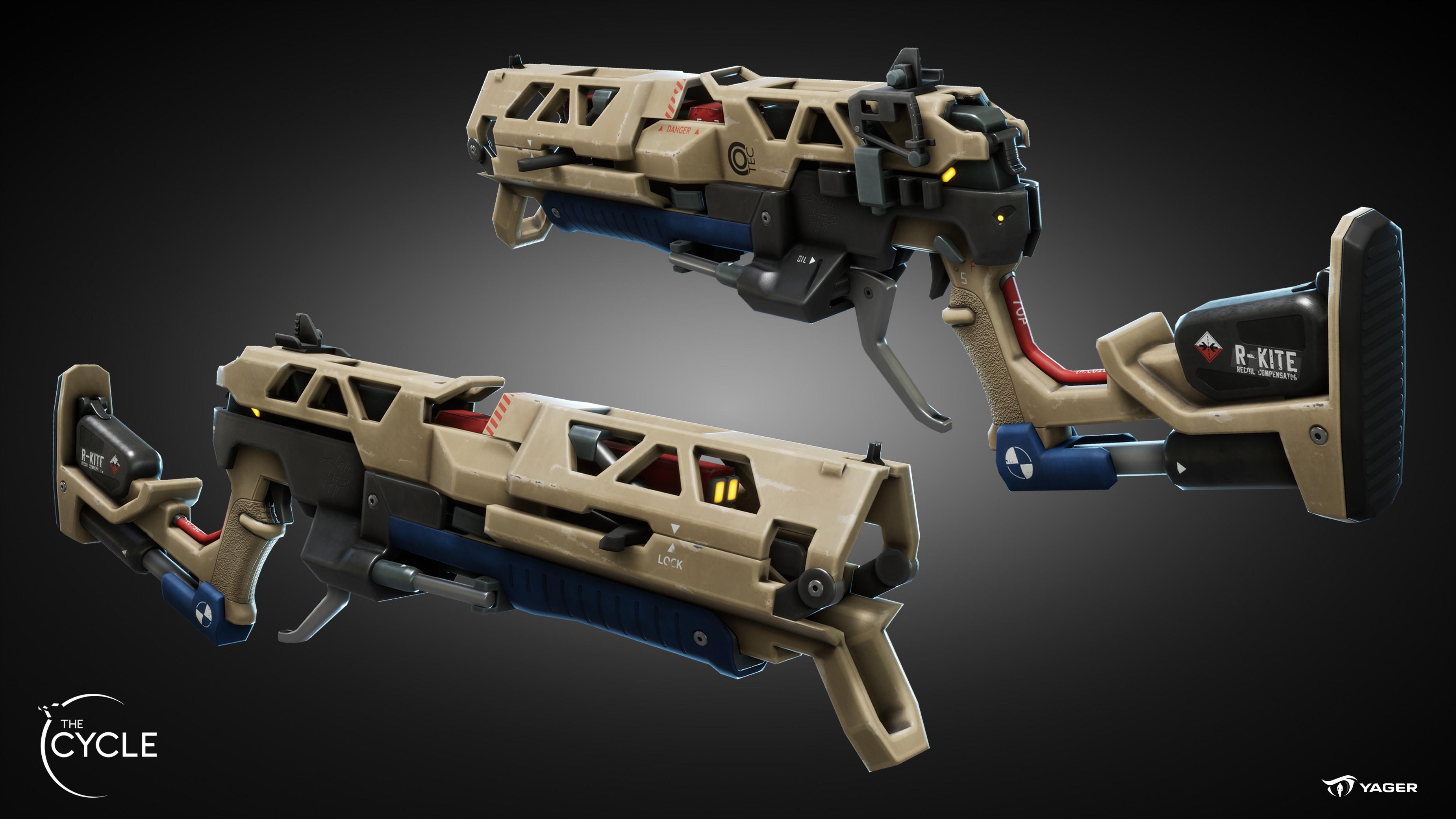FF4 Detonator (Grenade Launcher)