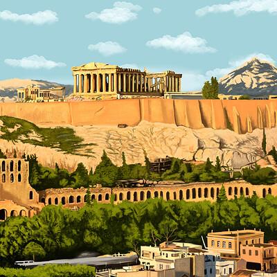 David okon athens greek new