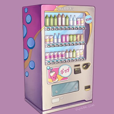 Bubbles Vending Machine Concept