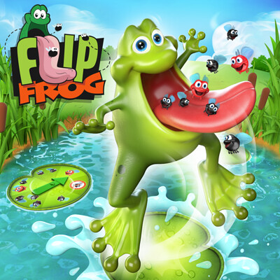 Flip Frog - Fuga Four Studio - Goliath Games project