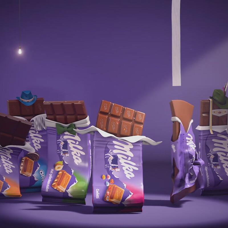 Milka Commercial - Netherlands