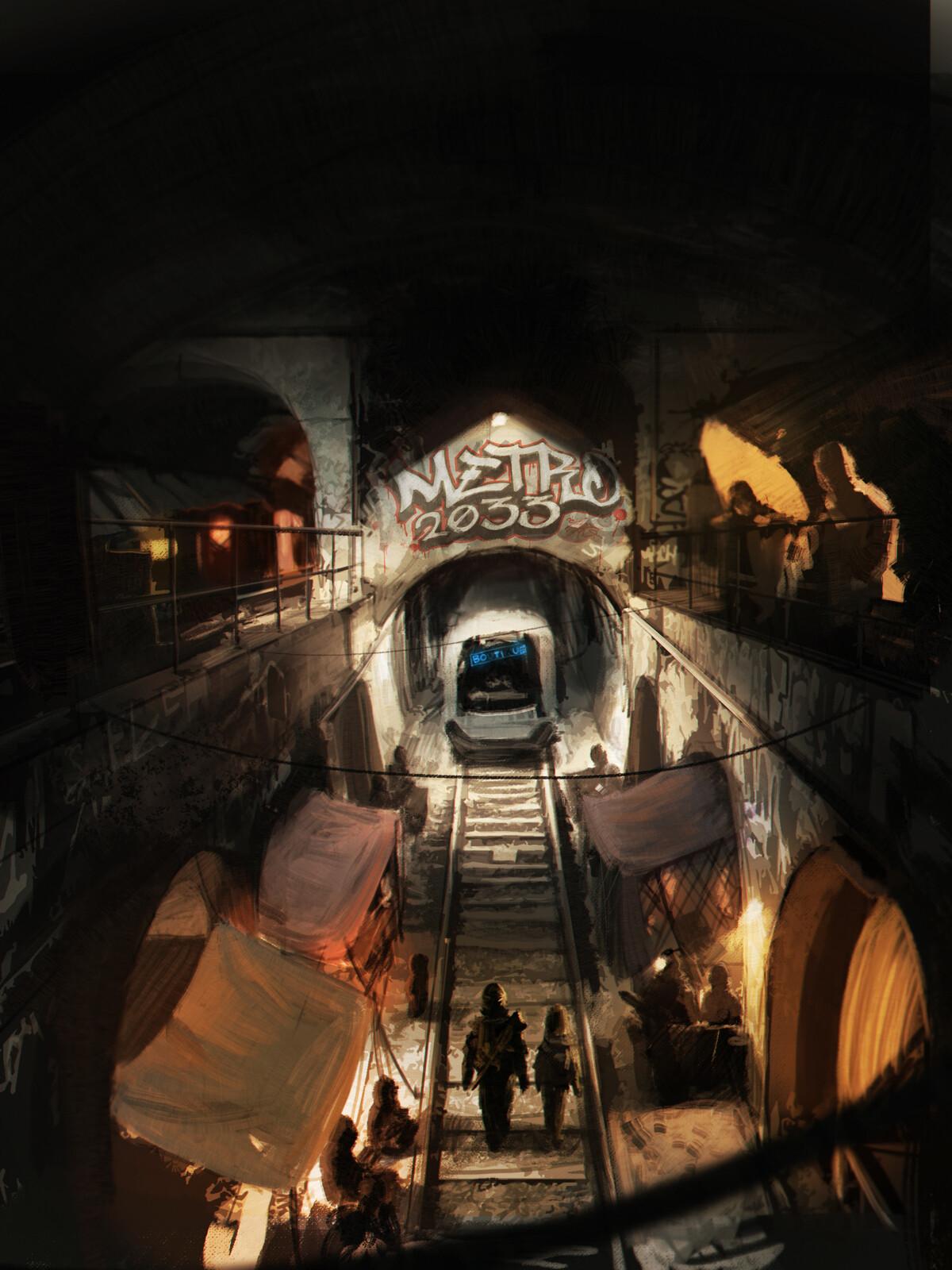 Metro 2033, Rive Gauche cover
