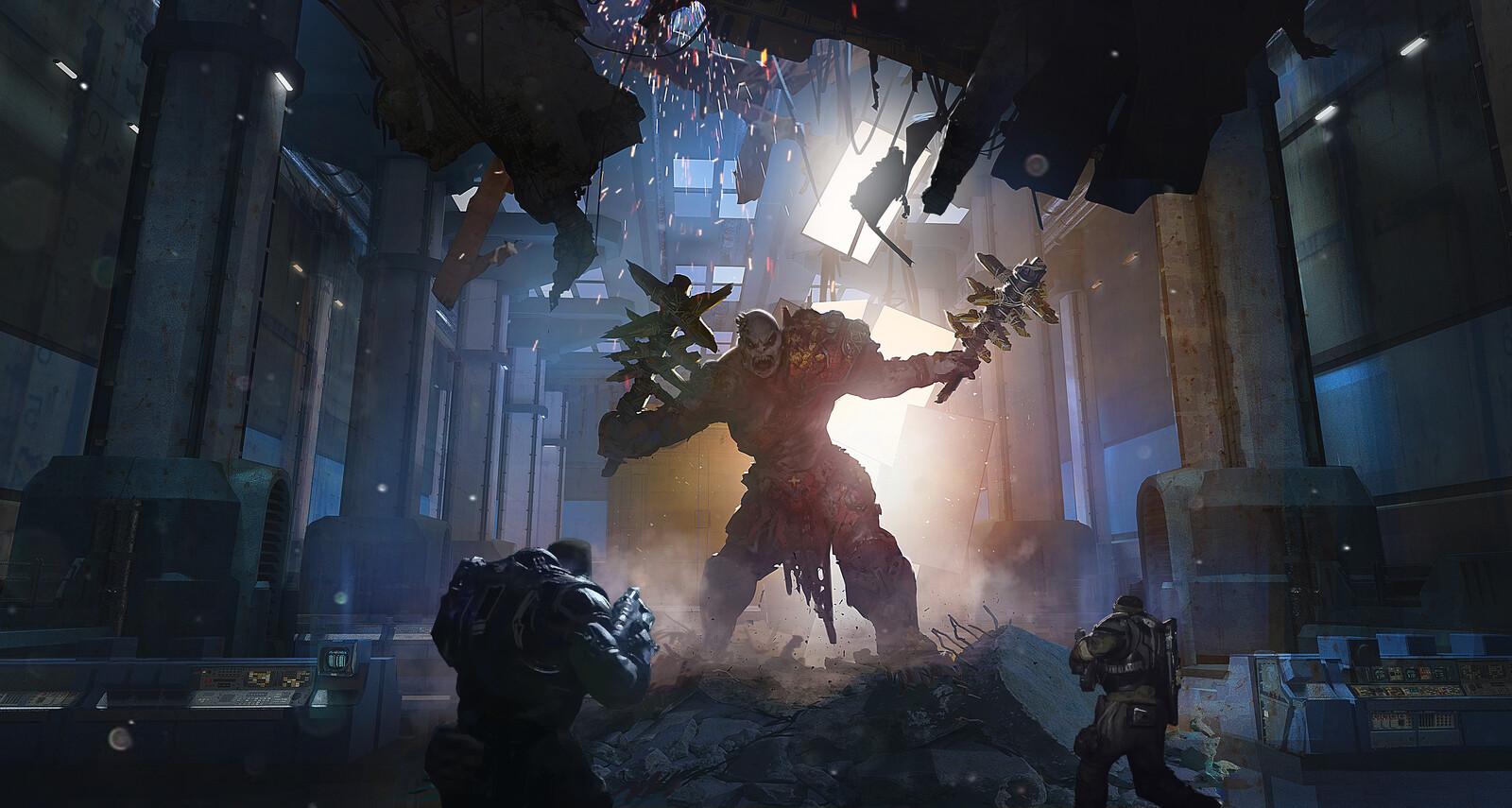 Gears Of War 5 - Warden entrance