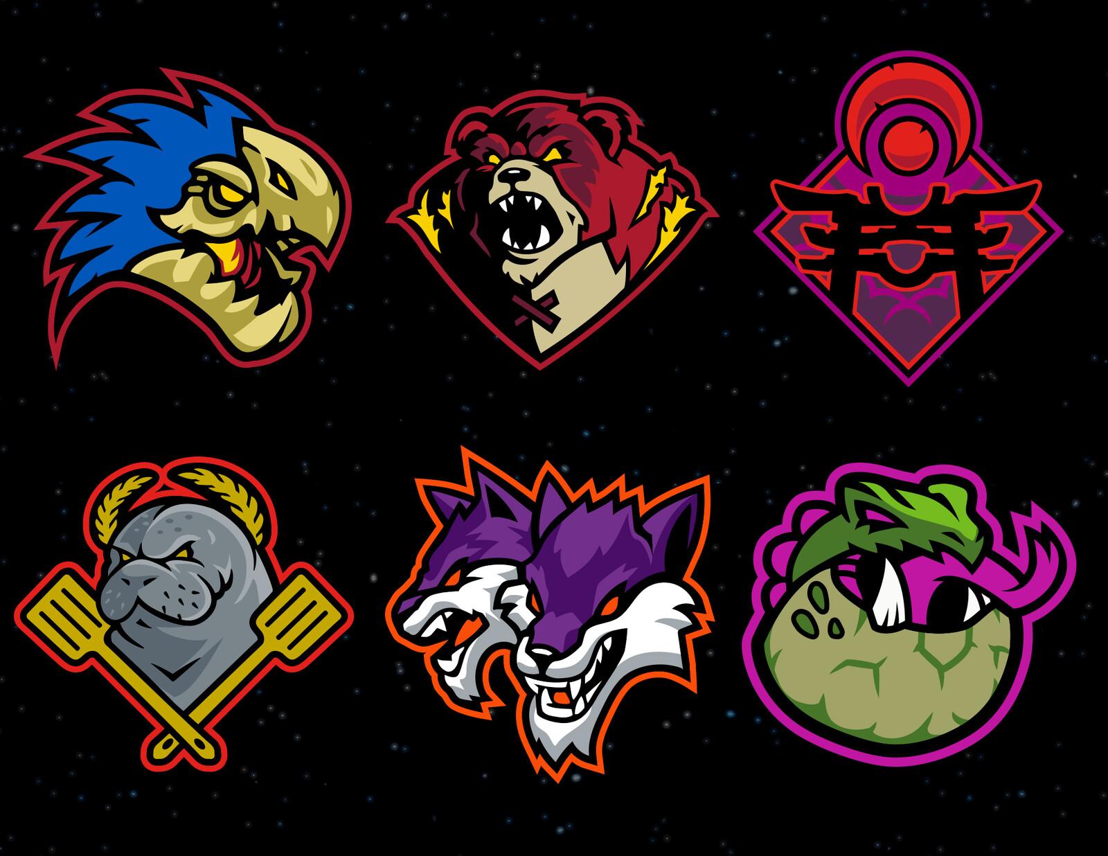 Various logos from initial push