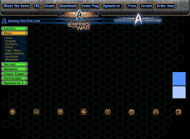 StarTrek- Empires at War - Star Fleet Command.com