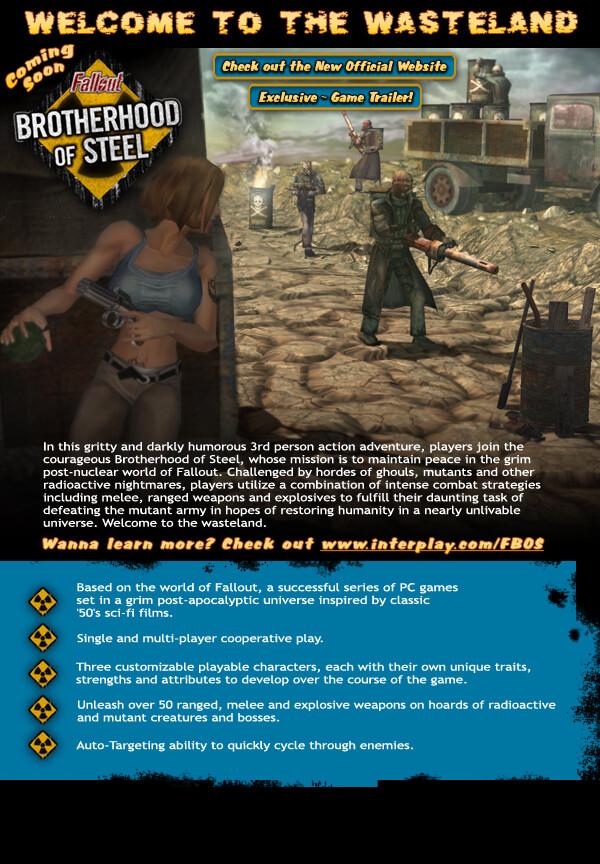 Fallout BOS e-mailer