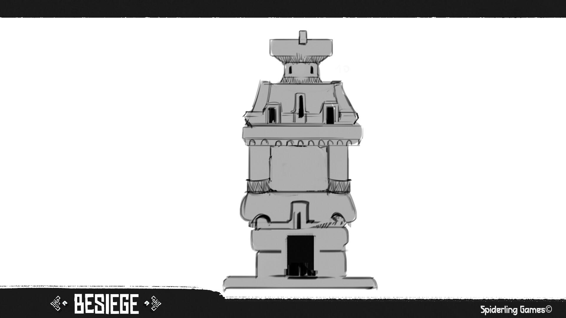 Storage tower