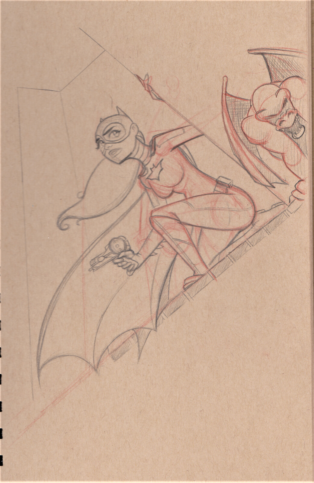 Original Batgirl sketch from 2019.